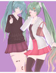DL: Tda Happy 10th Birthday Miku Set