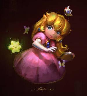 Princess Peach - SMRPG Fanart [GIF]