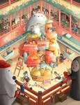 Studio Ghibli FanArt - Happy Bday Hayao Miyazaki
