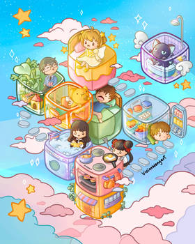 Cardcaptor Sakura Fan Art - vivianwongart