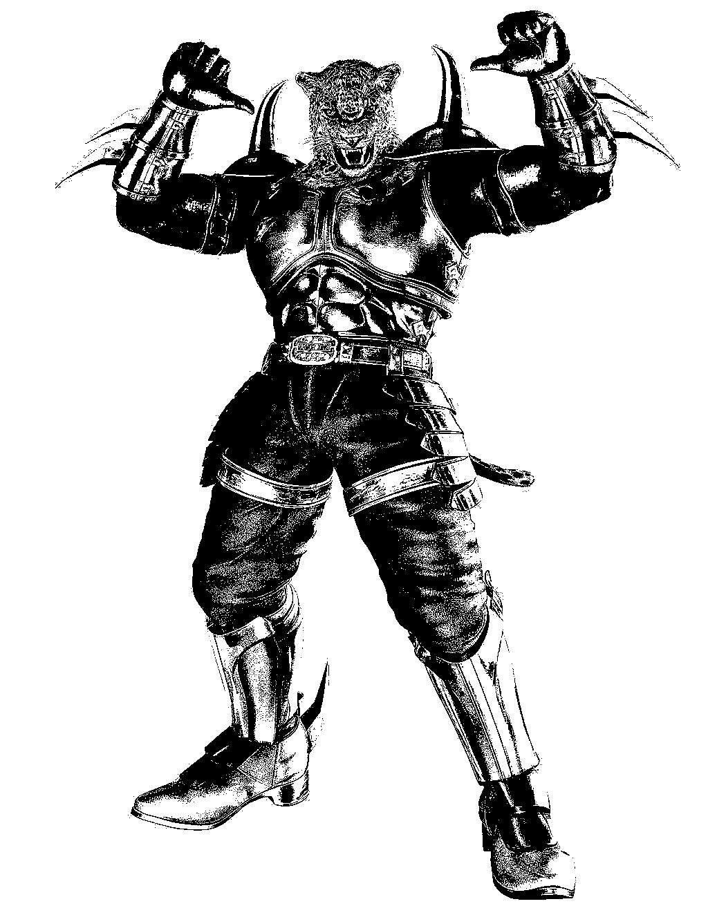 Armor King Tekken 6 By Zixzate On Deviantart