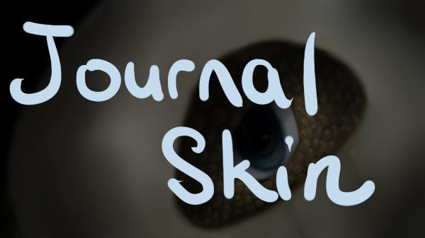 Cubone Journal Skin by QuietCrystal