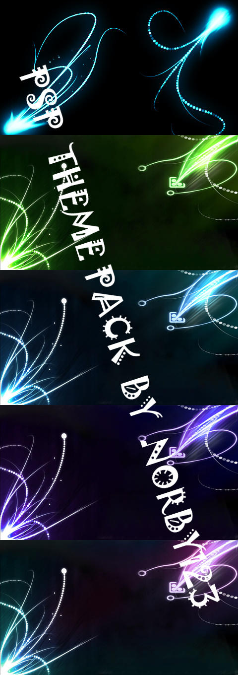 Psp Wallpapers And Themes Free Download PSP Theme Pack by Norb...