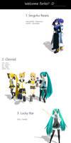 MMD - Random anime pose pack