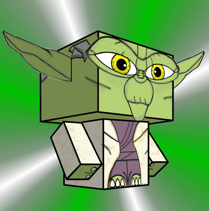 Yoda Cubee by Pankismo