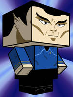 Mr. Spock Cubee by Pankismo