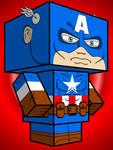 Captain America Cubee -remake-