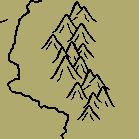 Fantasy Map Mountains GIMP Brush