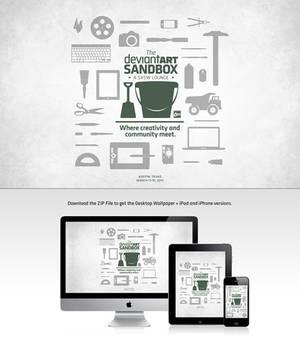 DeviantART Sandbox Wallpaper