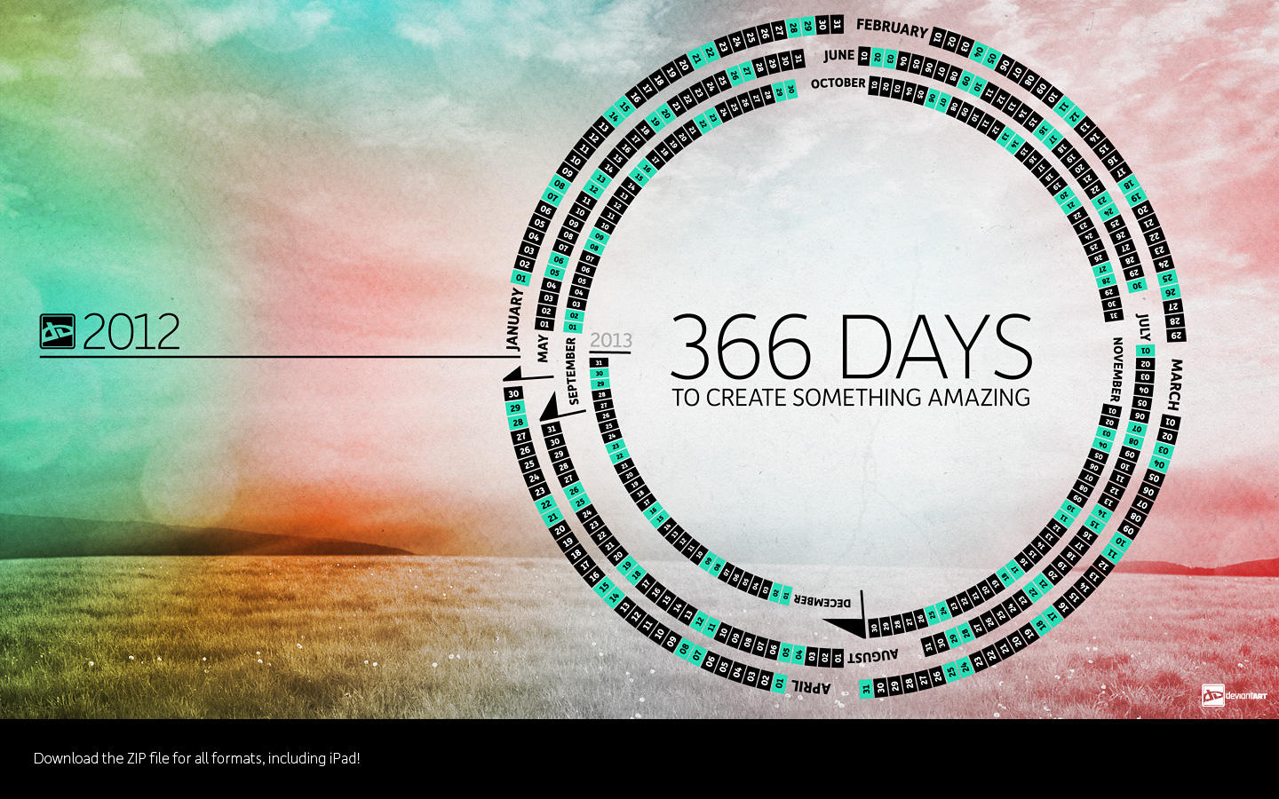 366 Days to Create_2012 by TheRyanFord 366 Days to Create_2012 by  TheRyanFord