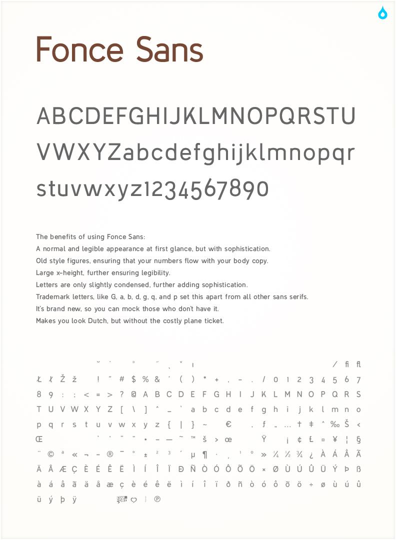 Fonce Sans Regular_Prototype by TheRyanFord