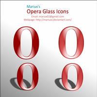 Opera Glass Icons by MariuxV