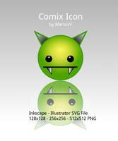 Comix Icon by MariuxV