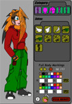 Create A Fursona v3 Female by tony64