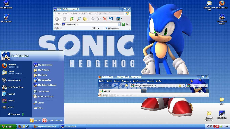 Sonic The Hedgehog HD Theme by DarkShdw91 on DeviantArt