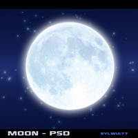 Moon - psd by Sylwia77