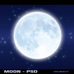 Moon - psd