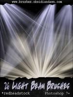 Light Beam Brushes - GIMP by Genidoxian