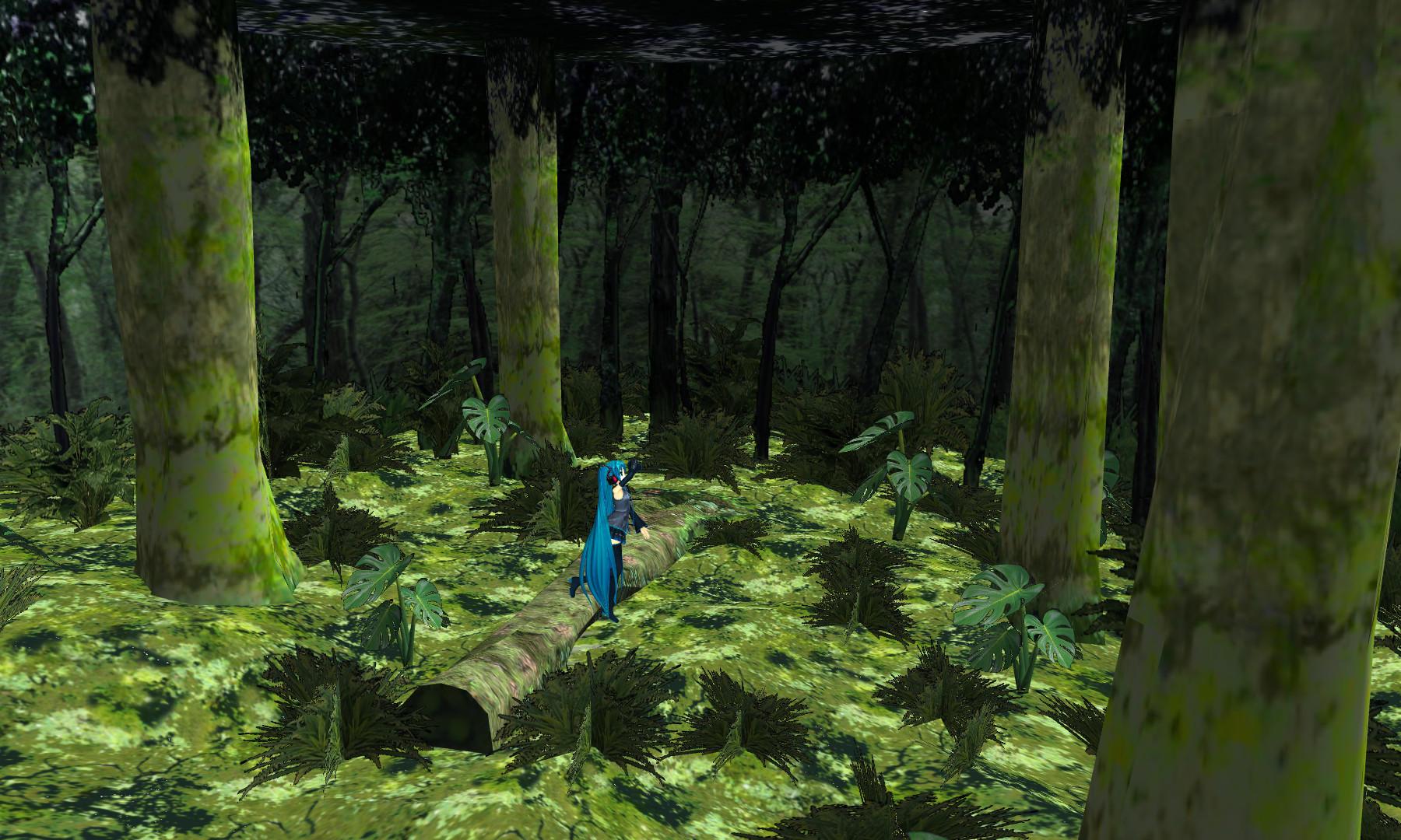 Mmd Forest Scene From Polygon Love 2 By Ketokeas On Deviantart