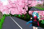 [MMD]Sakura Stage