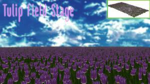 Tulip field stage [MMD DL]