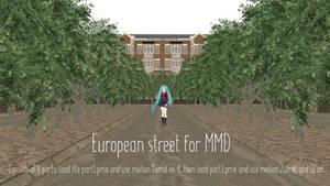 European street [MMD DL] by ketokeas