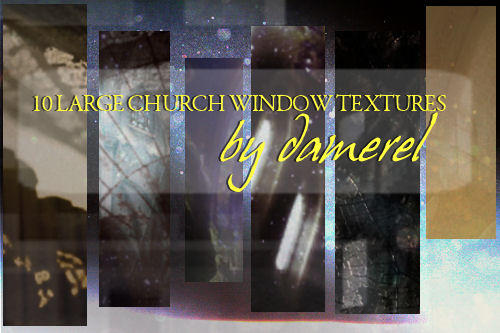 large church window textures by damerel
