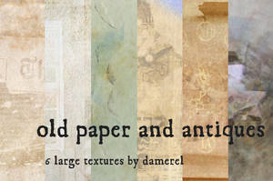 old paper and antique textures by damerel