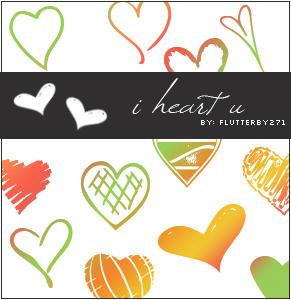 i heart u by flutterby271