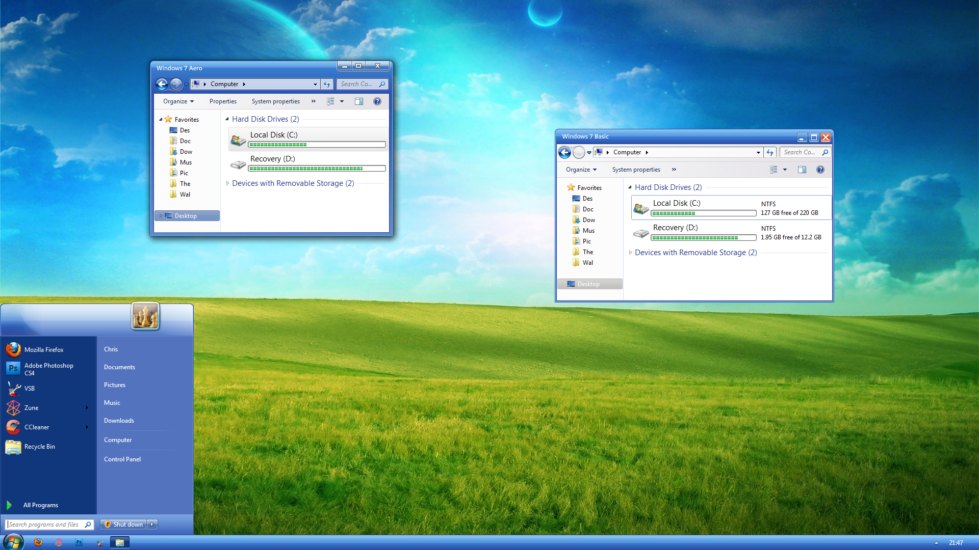 windows xp infected theam - photo #33