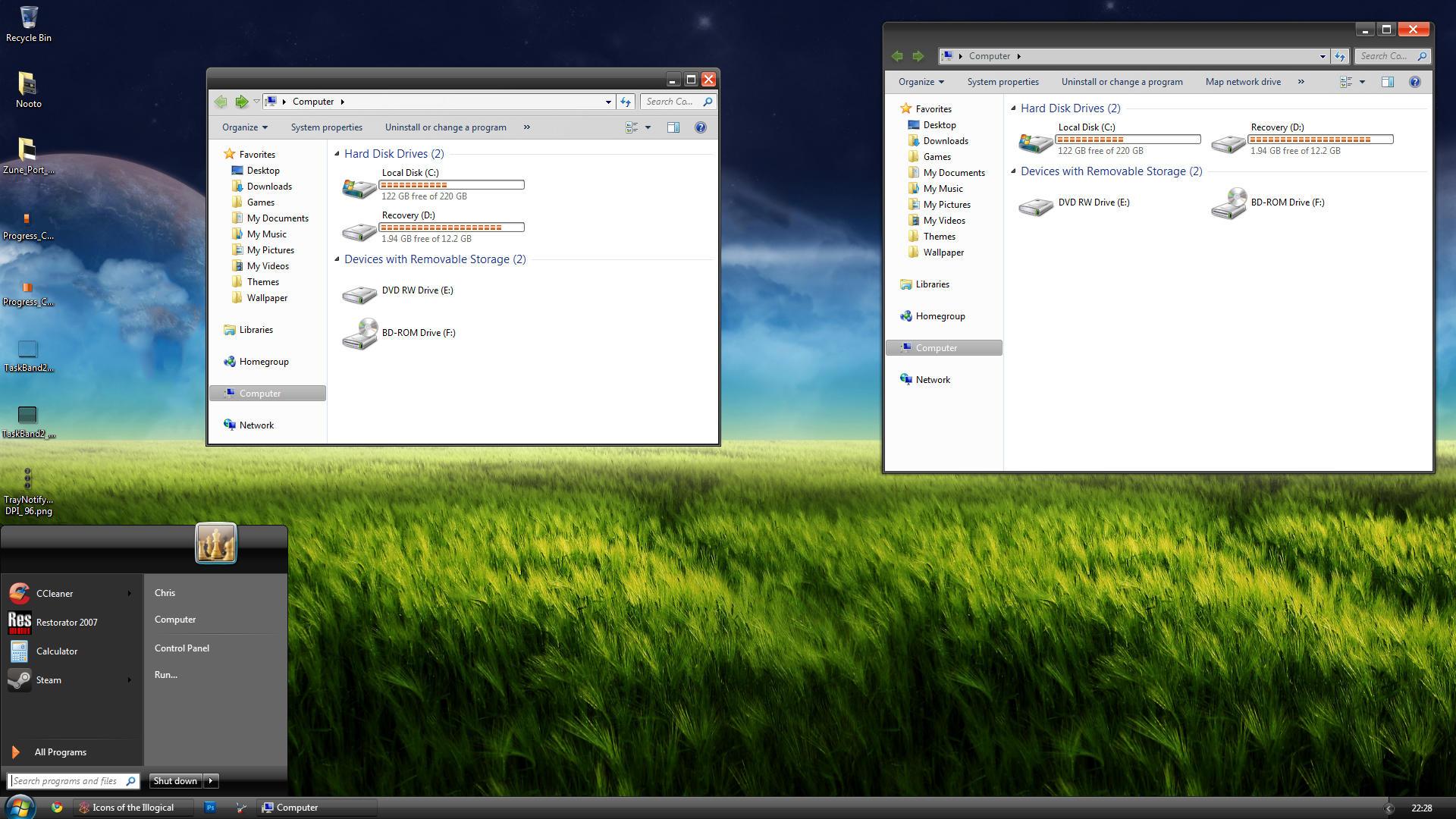 Zune for Windows 7 - beta by Satukoro