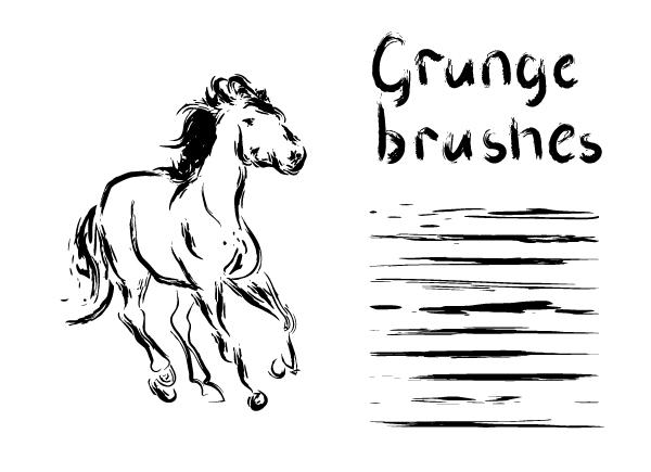 Free Adobe Illustrator grunge brushes by gleolite on DeviantArt
