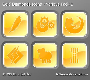 Diamonds - Various Pack 1 by hotfreezer