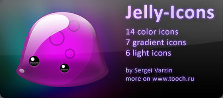 Jelly-Icons for Mac OS X by mtFr0st