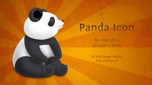 Panda Icon for Mac OS X