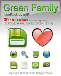 Green Family IP by mtF_ICO by mtFr0st