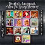 Iconos The Big Bang Theory by laorejafan1990