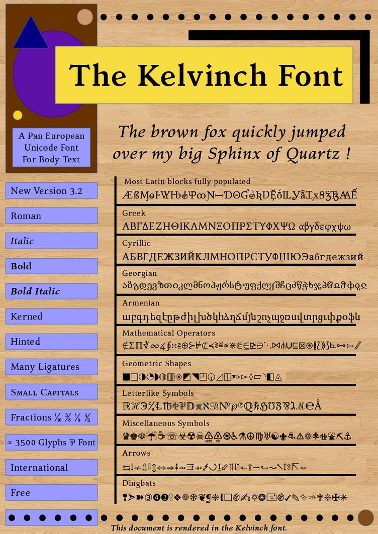 Kelvinch Release Version by PJMiller