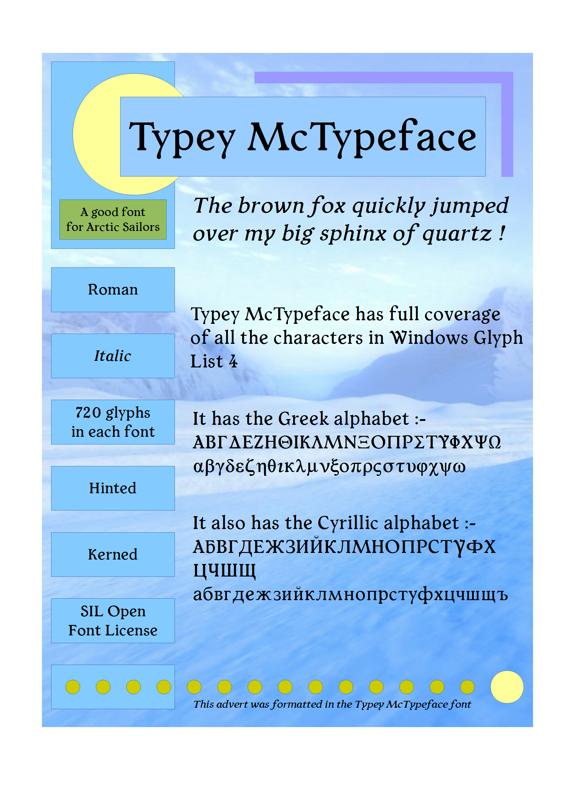 Typey McTypeface by PJMiller