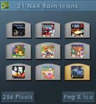 N64 Roms [Cartridge Icons]
