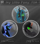 My Little Pony - Antagonists [Glass Icons]