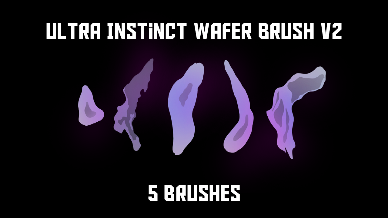 Ultra Instinct Aura Brush v2 by rmehedi