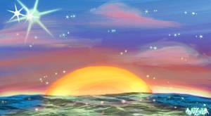Starlight at Sunset.