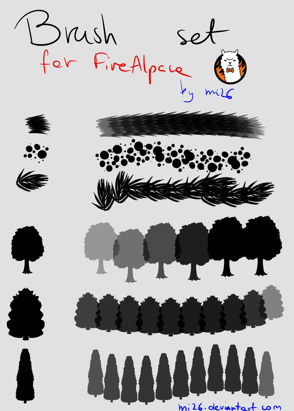 Firealpaca Custom Brushes Flowers Related Keywords & Suggestions