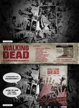 Walking Dead Suite -A complete theme for Rainmeter