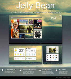 Jelly Bean - A complete theme for Rainmeter