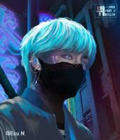 BTS as Songs - V x Cypher Pt.3 Killer by Esu-n