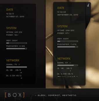 BOX - Conky Config