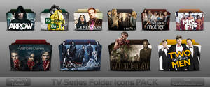 TV Series folder icons PACK