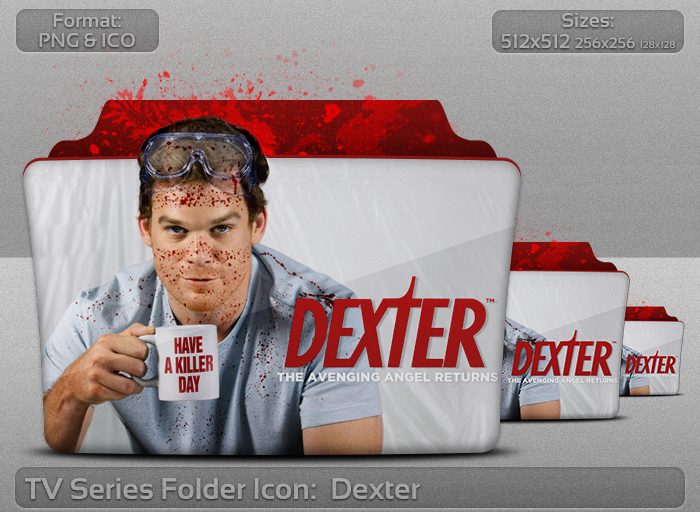 Dexter TV Serie Folder Icon by atty12